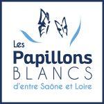 Logo Les papillons blancs d'entre Saône et Loire